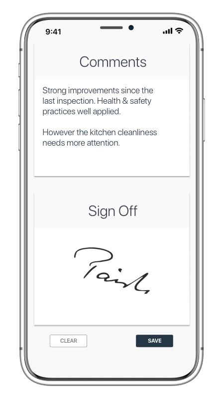 electronic signatures app