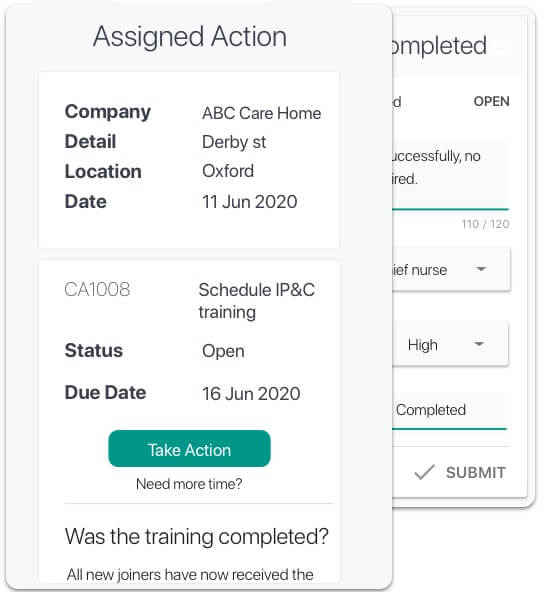 healthcare-inspection-action