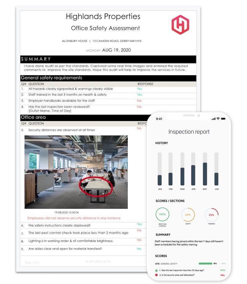facilities inspection app