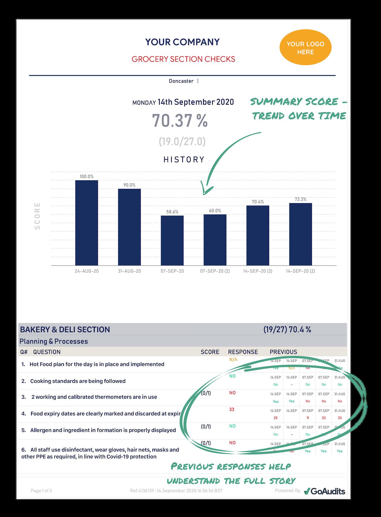 auditing app report