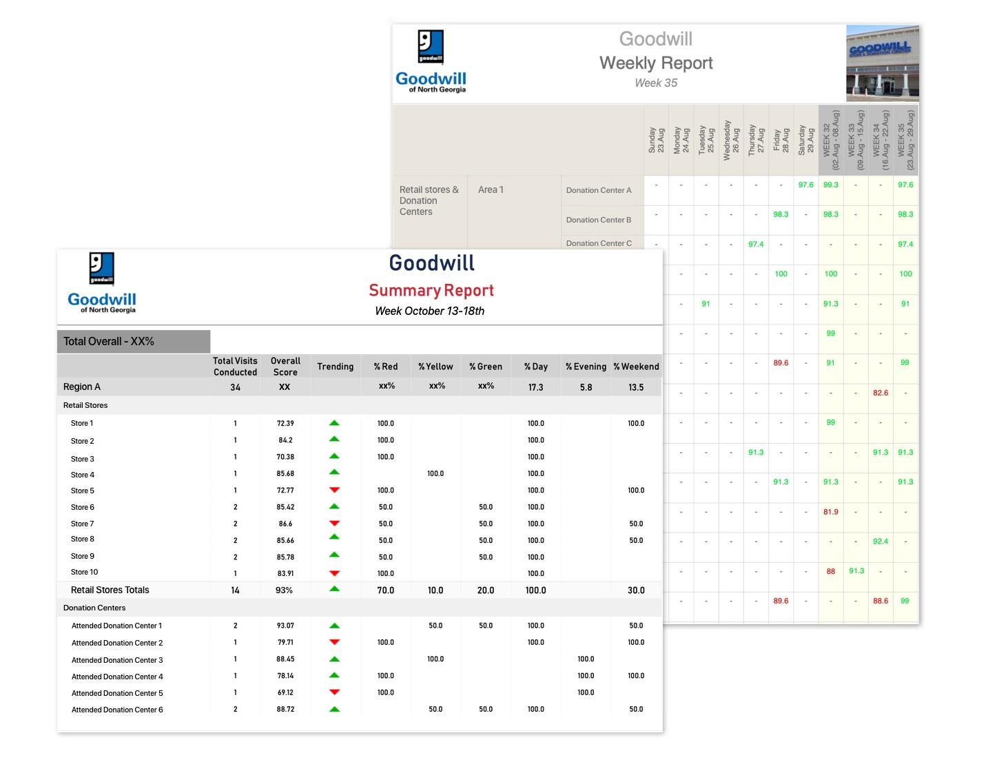 retail auditing report